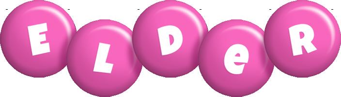 Elder candy-pink logo