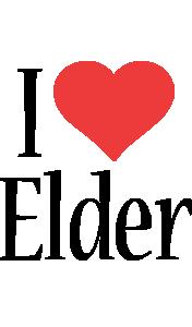Elder i-love logo
