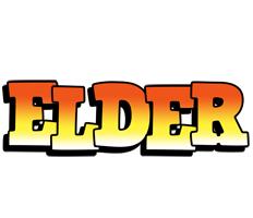 Elder sunset logo