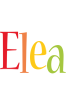 Elea birthday logo
