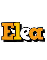 Elea cartoon logo