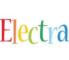 Electra birthday logo