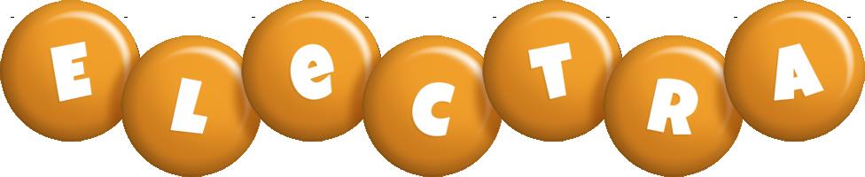 Electra candy-orange logo