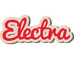 Electra chocolate logo