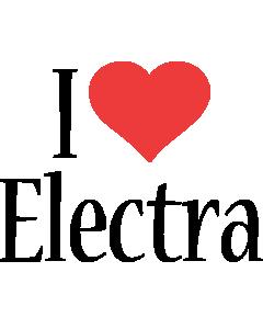Electra i-love logo