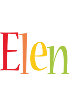 Elen birthday logo