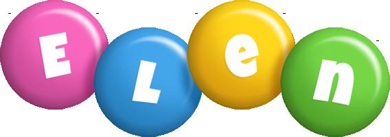 Elen candy logo