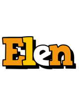 Elen cartoon logo