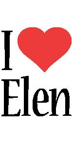 Elen i-love logo