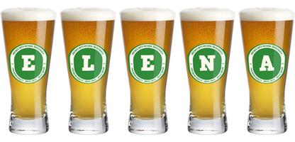 Elena lager logo