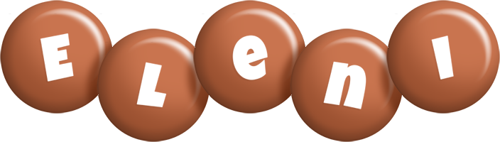 Eleni candy-brown logo