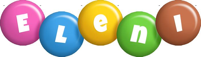 Eleni candy logo