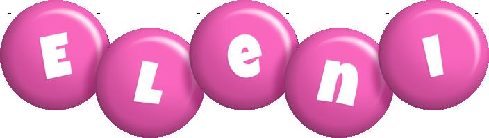 Eleni candy-pink logo
