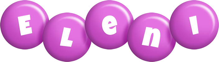 Eleni candy-purple logo