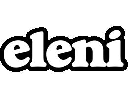 Eleni panda logo