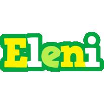 Eleni soccer logo