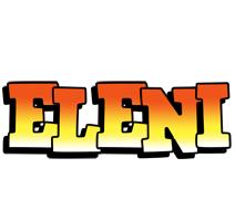 Eleni sunset logo