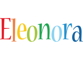 Eleonora birthday logo