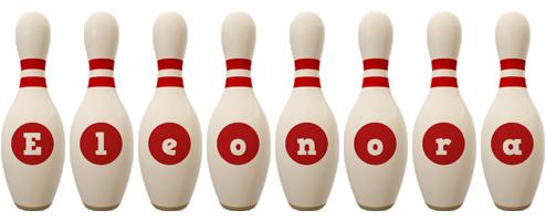 Eleonora bowling-pin logo