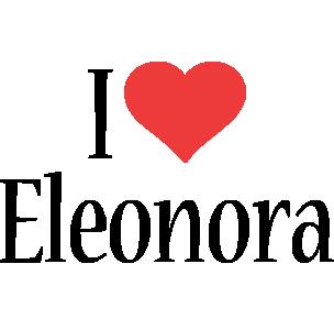 Eleonora i-love logo