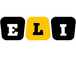 Eli boots logo