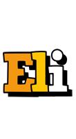 Eli cartoon logo