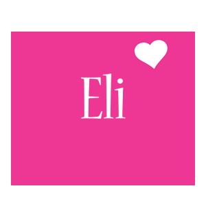 Eli love-heart logo