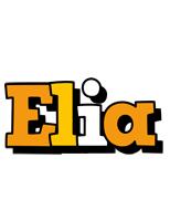 Elia cartoon logo