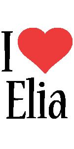 Elia i-love logo