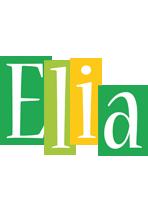 Elia lemonade logo