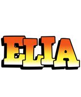 Elia sunset logo
