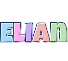 Elian pastel logo