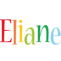 Eliane birthday logo
