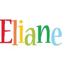 Eliane birthday logo