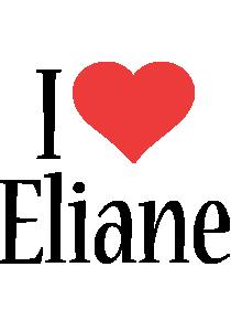 Eliane i-love logo