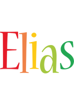 Elias birthday logo