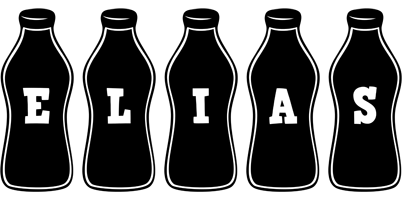 Elias bottle logo