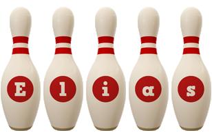 Elias bowling-pin logo