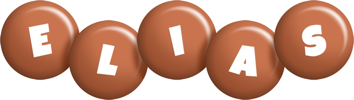 Elias candy-brown logo