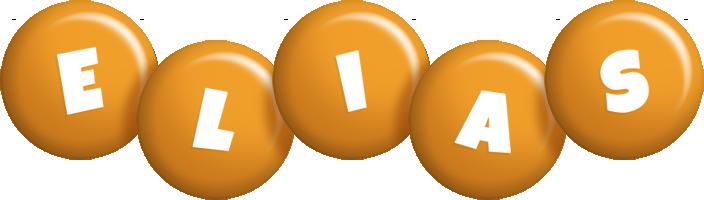 Elias candy-orange logo