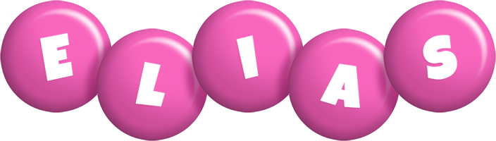 Elias candy-pink logo