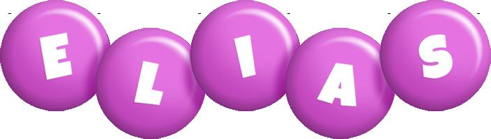 Elias candy-purple logo