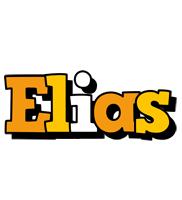 Elias cartoon logo