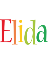 Elida birthday logo