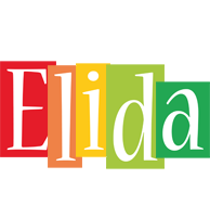 Elida colors logo