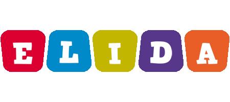 Elida kiddo logo
