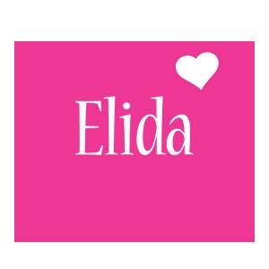 Elida love-heart logo