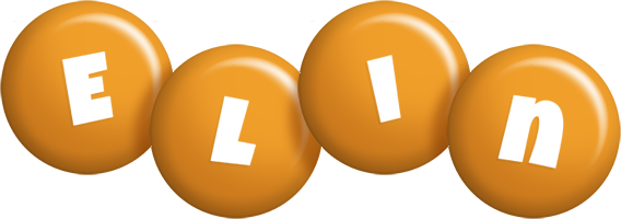 Elin candy-orange logo