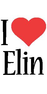 Elin i-love logo