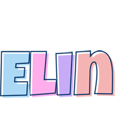 Elin pastel logo